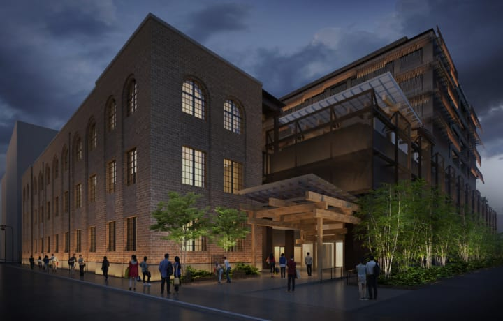 隈研吾監修による京都の新複合施設「新風館」が4月にオープン エースホテル京都が館内に日本初出店