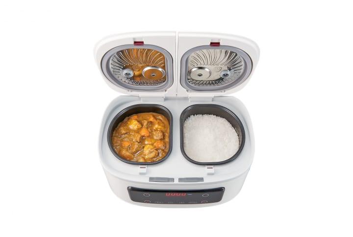 1台でご飯とおかずが同時にできる 自動調理鍋「ツインシェフ」が登場