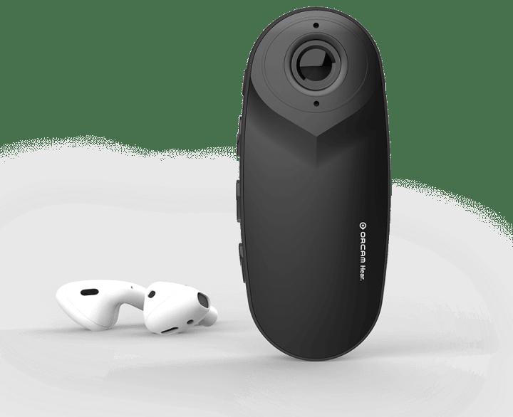 世界初となる耳の不自由な人のためのAI搭載補助機器 「OrCam Hear オーカムヒア」が登場