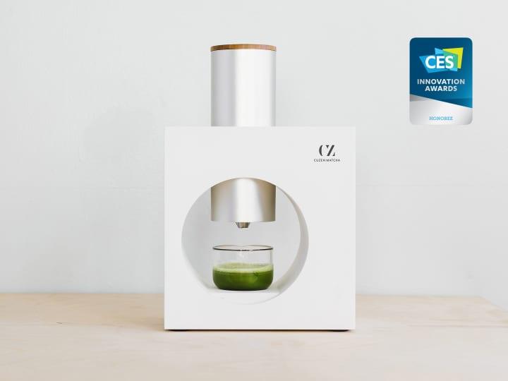 美味しい抹茶を誰でも簡単に楽しめる 抹茶メーカー「Cuzen Matcha」登場