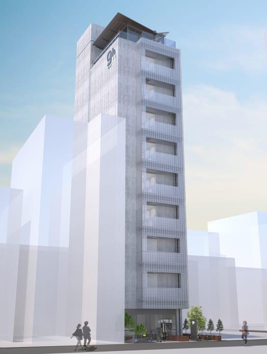 カプセルホテル「ナインアワーズ名古屋駅」がオープンへ 芦沢啓治が内装と屋上ペントハウスの設計を担当