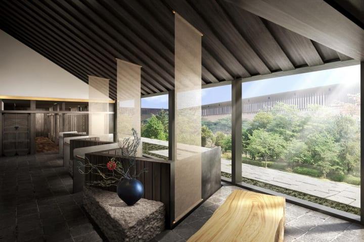 隈研吾が建築デザインを担当した奈良公園内初の リゾートタイプホテル「ふふ 奈良」がオープンへ