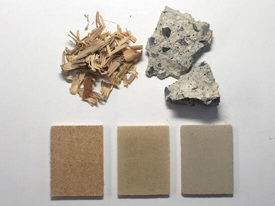 コンクリートと植物が融合したリサイクルコンクリート 東京大学、バイオアパタイト、大野建設が共同で開発