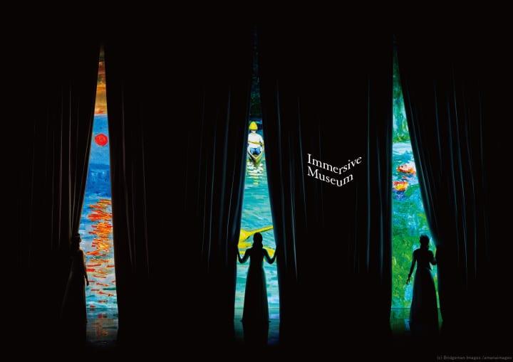 絵画の世界に入り込む没入体験ミュージアム 「Immersive Museum」が開催