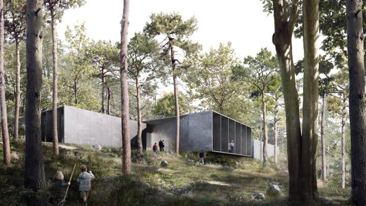 デンマークで「Cold War museum」が建設へ 冷戦期の秘密の地下壕をイメージしたデザイン