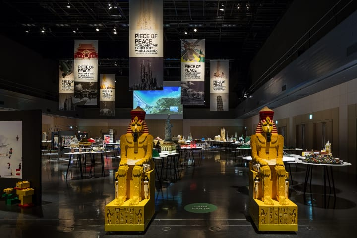 世界遺産チャリティーアートエキジビションが開催 「PIECE OF PEACE 『レゴ®ブロック』で作った世界遺産展…