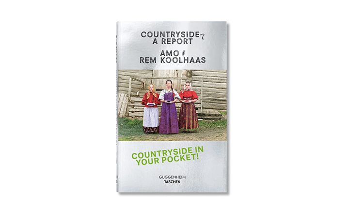 TASCHENから「Koolhaas. Countryside, A Report」登場 レム・コールハースによる展覧会の公式ガイドブック