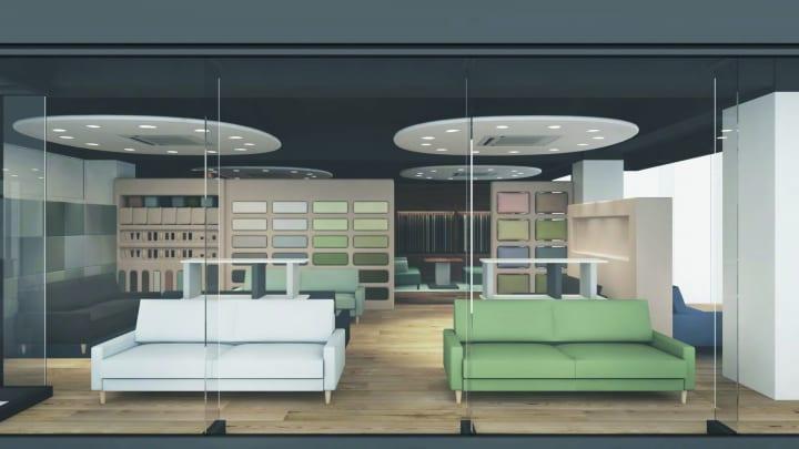 オーダーソファブランド「blocco 青山店」オープンへ 内装デザインは山田佳一朗と中根彩花が担当