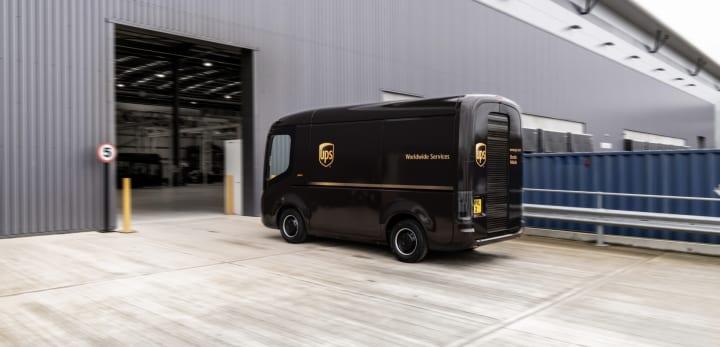 物流大手 UPSが10,000台の商用EVを導入へ 英スタートアップ Arrivalが車両を供給