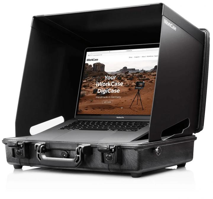 プロのカメラマン向けのブリーフケース 16インチMacBook Proに対応した「iWorkCase V3 16」が登場
