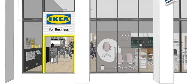 「IKEA for Business」が渋谷にオープン イケア・ジャパンが法人向けにインテリアを提案