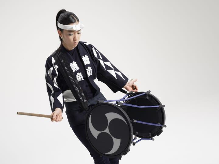 ローランドの電子和太鼓「TAIKO-1」 和太鼓特有の音色変化による多彩な音を再現