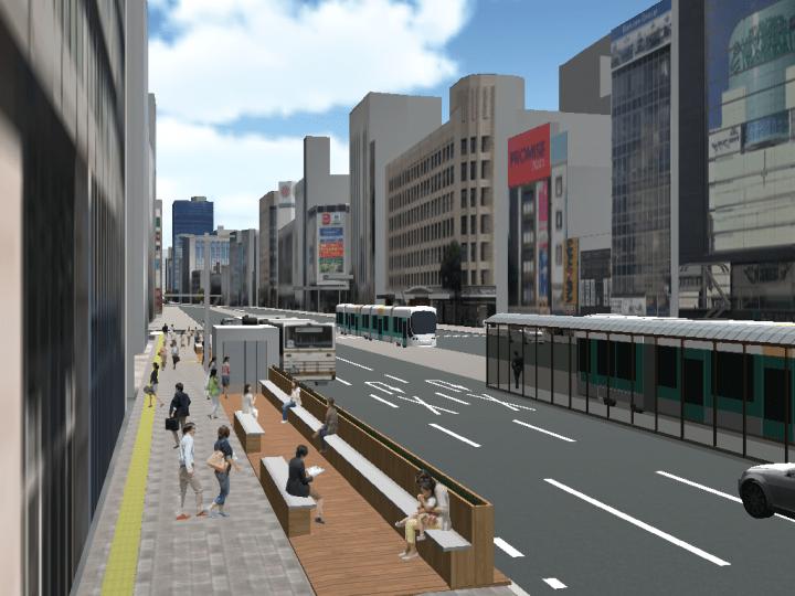 広島・相生通りで次世代型まちづくりプロジェクト 「#カミハチキテル -URBAN TRANSIT BAY-」開催