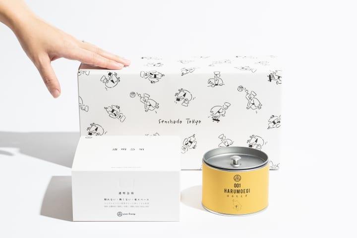 煎茶堂東京×長場雄コラボラッピングが登場 現代のライフスタイルを謳歌する千利休をデザイン