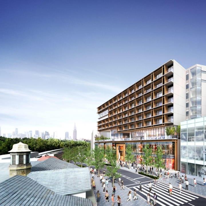 「WITH HARAJUKU」が2020年4月25日(土)にグランドオープン レジデンスも入居募集を開始へ