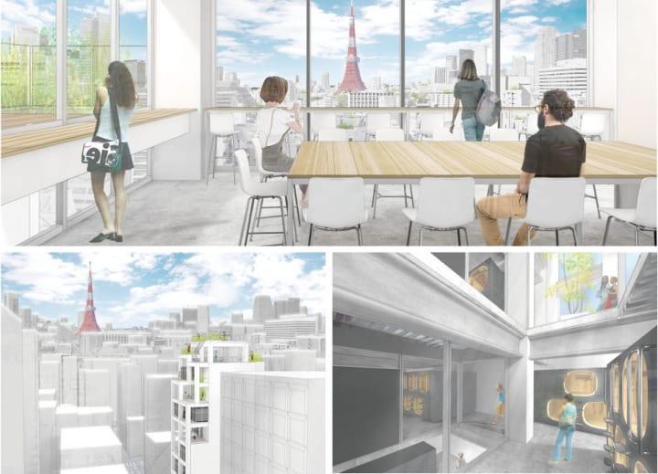 「ナインアワーズ浜松町」が浜松町駅至近にオープン 建築・設計を担当するのは建築家 平田晃久