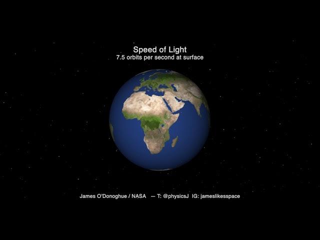 光は案外ゆっくり進む!? JAXAの研究者が光の進み方を可視化、動画で紹介