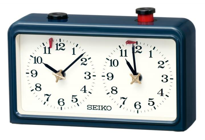 セイコークロックが対局用置時計を復刻発売 将棋・囲碁などの「持ち時間」を計測