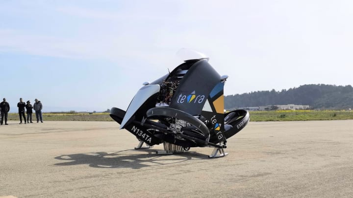 東大発「空飛ぶクルマ」ベンチャーのテトラ 米国で試験飛行許可を取得 「テトラ3」の機体も初公開