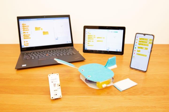 ユカイ工学のエデュケーション事業が本格始動 初めてのロボット作りからプログラミング学習までを体験