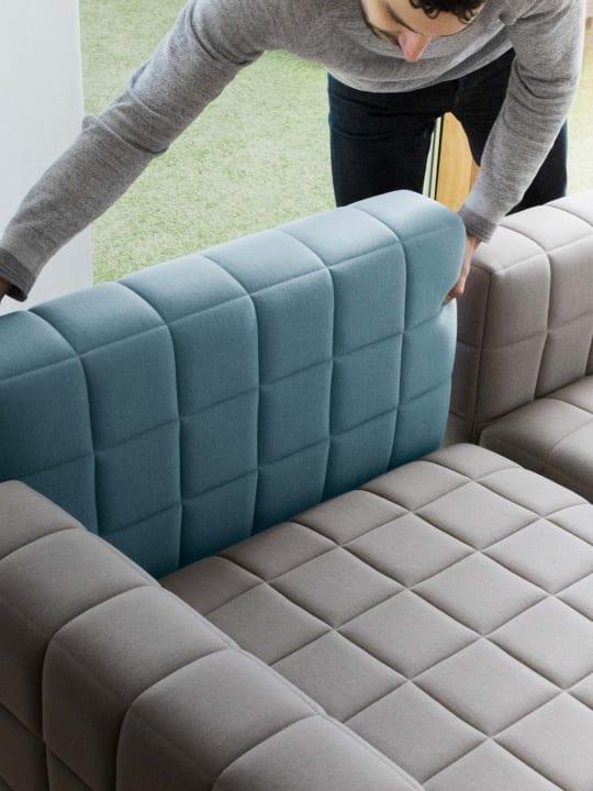 BIGとCommon Seatingが共同で手がけた モジュール式のソファ「Voxel」が登場