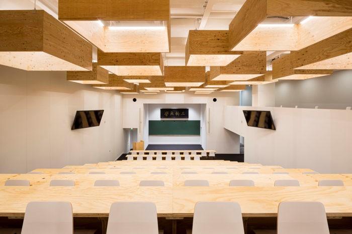 東京大学工学部11号館に「HASEKO KUMA HALL」誕生 隈研吾建築都市設計事務所がデザインを担当