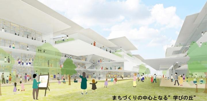 大阪・寝屋川で新しい小中一貫校が建設へ 梓設計・隈研吾・オオバの共同企業体が設計を担当