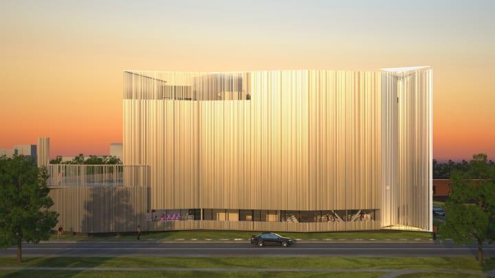 リニューアルした「Oklahoma Contemporary Arts Center」 「Folding Light」が街の新しいビーコンに