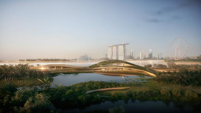 シンガポールの建国者を称える施設「Founders' Memorial」 隈研吾建築都市設計事務所らの設計案を採用