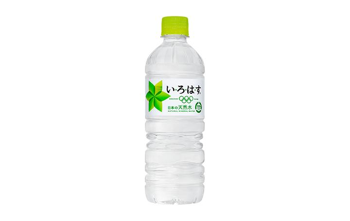 コカ・コーラ「い・ろ・は・す 天然水」 100%リサイクルペットボトル を展開