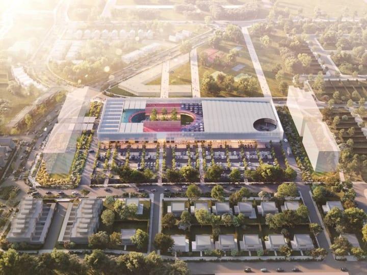OMAが設計する「Wollert Neighbourhood Centre」 ショッピングセンター自体が社会インフラに