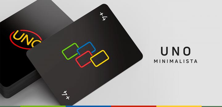 ブラジルのデザイナー Warleson Oliveiraが提案する UNOの新バージョン「Uno Minimalista」