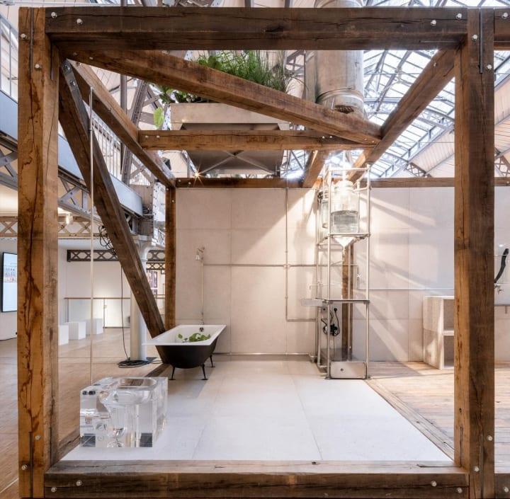 ホテル客室の水システムを再考する ciguëによるプロトタイプ「a room for tomorrow」