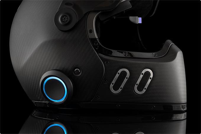 ヘッドアップディスプレイが使える バイク用ヘルメット向けデバイス「EyeRide」が登場