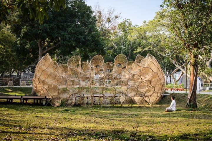 Cheng Tsung FENGの新作「Fish Trap House IV Houli」 失われつつある台湾伝統の漁具をランタンに