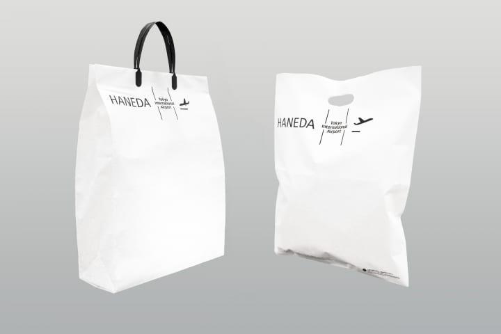 羽田空港のショッピングバッグに「Bio LIMEX Bag」採用 石灰石と植物由来樹脂の使用でアップサイクルも可…