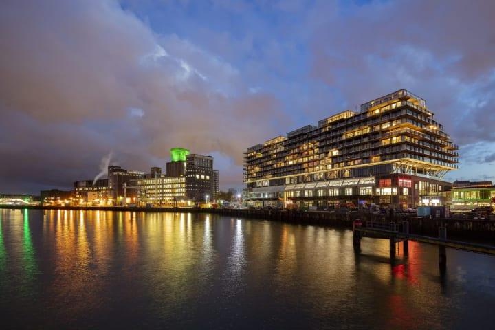 オランダの歴史ある倉庫をロフトアパートに改造 建築プロジェクト「Fenix I」