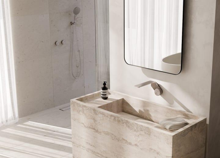 Phoenix Tapwareから登場した「Axia」 超薄型の洗面所用水栓金具コレクション