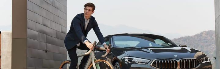 走る楽しさと自由を体験 BMWとバイクパーツメーカー3Tのコラボバイクフレーム「3T for BMW」が登場