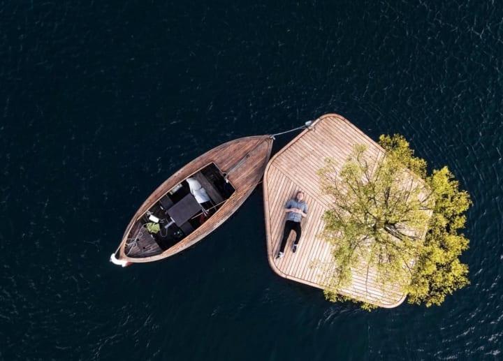 コペンハーゲンの港に浮かぶ 新しいタイプの市民公園「Copenhagen Islands」
