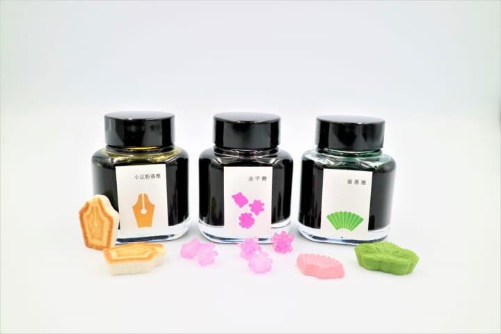 和菓子をイメージした「江戸色インク」 新色3種が銀座蔦屋書店のオンラインストアに予約発売