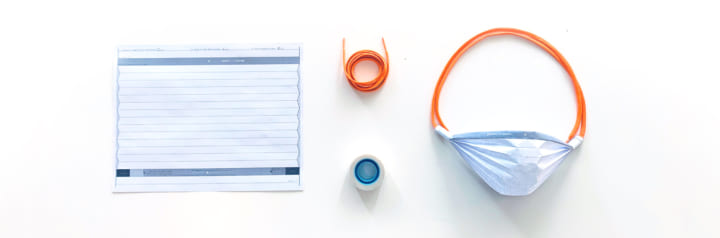 紙にプリントして使い捨てマスクを作ろう ウイルスよりも速く解決策を提供するプロジェクト「Print Your M…