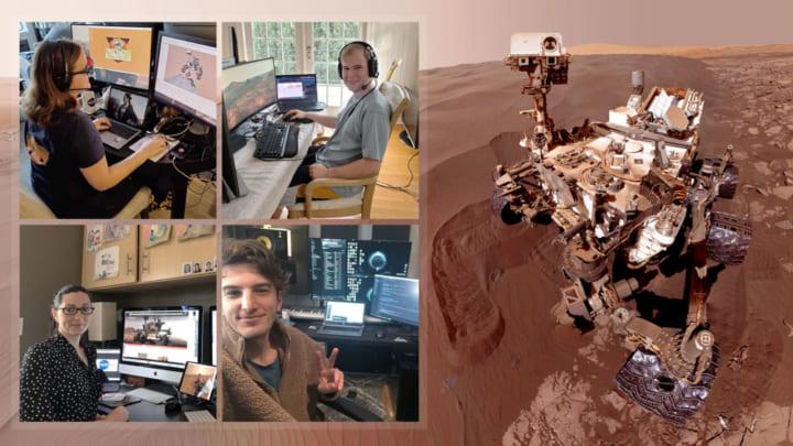 火星探査車「キュリオシティ」は歩みを止めない! NASA職員もリモートワークで作業を続行