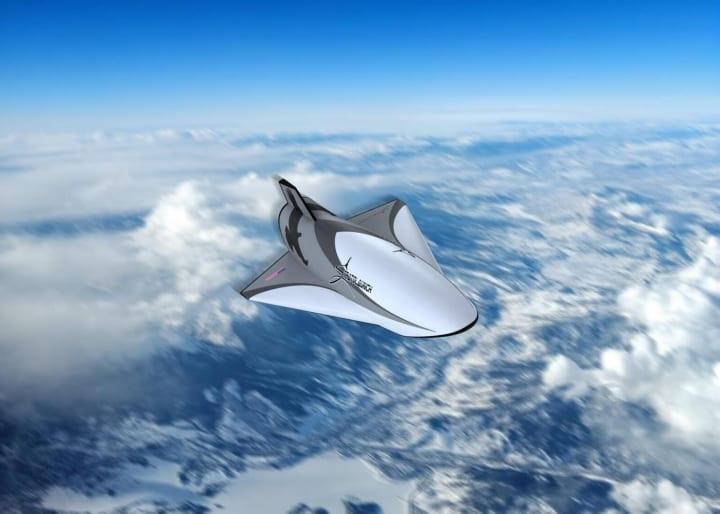 空中発射ロケットの開発を手がける米ストラトローンチが 極超音速実験機「Talon-A」のデザインを公開