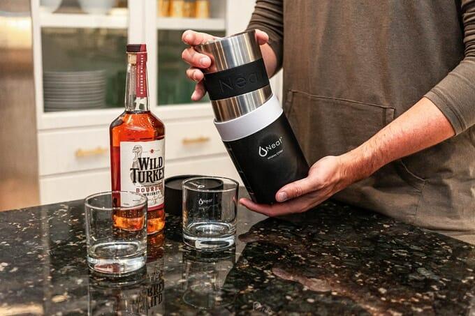 自宅のウイスキーをより美味しくするアイテム 「Neat Whiskey Chiller」が登場