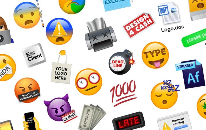 クリエイティブスタジオ &Walshから デザイナーやテレワーカーを表現する「Designer Emoji」が登場