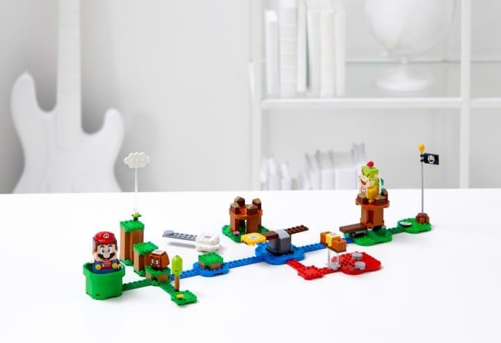 スーパーマリオ™がレゴ®ブロックの世界にやってくる! 「レゴ®マリオ と ぼうけんのはじまり 〜 スタータ…