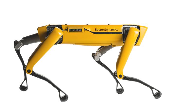 ボストン・ダイナミクスが病院で遠隔操作できる 自走ロボット「Spot」を提供