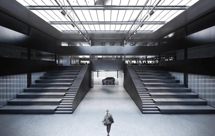 COBEが手がける自動車メーカーGeelyのデザインセンター ブランドのアイデンティティを反映する多機能施設