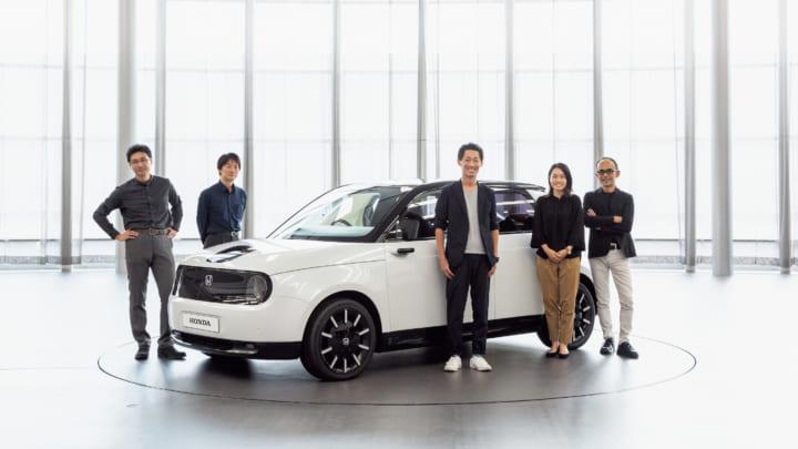 ホンダのデザインチームに聞いた、 EVシティコミューター「Honda e」の狙い